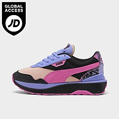 Women's Puma Cruise Rider Marble Casual Shoes