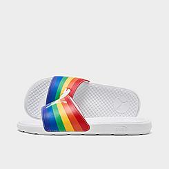 Women's Puma Cool Cat Rainbow Slide Sandals