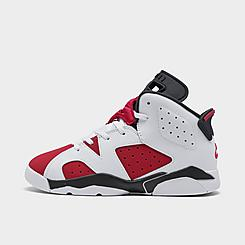 Little Kids' Air Jordan Retro 6 Basketball Shoes