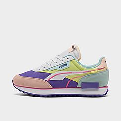 Women's Puma Future Rider Twofold SD Neon Pop Casual Shoes