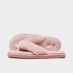 Women's Puma Fluff Flip Flop Sandals