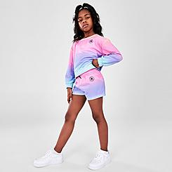 Girls' Little Kids' Converse Soft Ombre Shorts