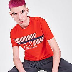 Men's EA7 Emporio Armani Lines T-Shirt