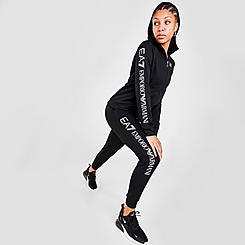 Women's EA7 Emporio Armani Full-Zip Hoodie and Joggers Set