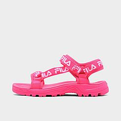 Girls' Big Kids' Fila Alteration Logo Sandals
