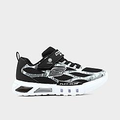 Boys' Little Kids' Skechers S Lights: Flex-Glow -Taren Casual Shoes
