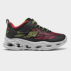 Boys' Little Kids' Skechers Vortex - Flash Hook-and-Loop Light-Up Casual Shoes