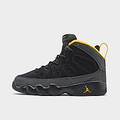 Little Kids' Air Jordan Retro 9 Basketball Shoes