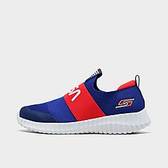 Boys' Little Kids' Skechers NASA Elite Flex Slip-On Casual Shoes