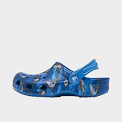 Little Kids' Crocs Classic Shark Clog Shoes