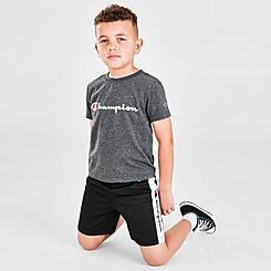 Boys' Little Kids' Champion Classic Script T-Shirt and Shorts Set