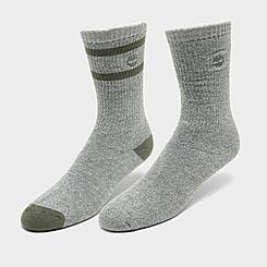 Men's Timberland Marled Striped 2-Pack Boot Socks