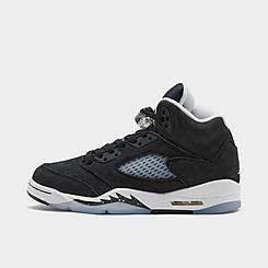 Big Kids' Air Jordan Retro 5 Basketball Shoes
