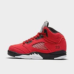 Little Kids' Air Jordan Retro 5 Basketball Shoes