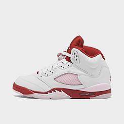 Girls' Big Kids' Air Jordan 5 Retro Basketball Shoes
