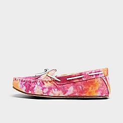 Women's Minnetonka Tie-Dye Carrie Moccasin Slippers