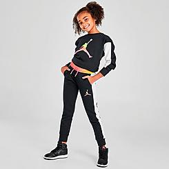 Girls' Jordan Jumpman Air Jogger Pants