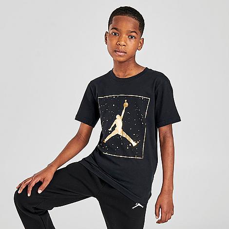 NIKE JORDAN KIDS' AJ13 SPECKLE GRAPHIC T-SHIRT