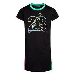 Girls' Jordan J's Are For Girls Logo T-Shirt Dress