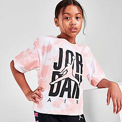 Girls' Jordan Tie-Dye Air T-Shirt