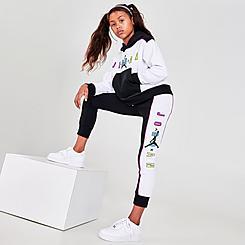 Girls' Jordan KSA Jumpman Fleece Jogger Pants
