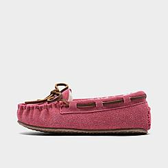 Girls' Toddler Minnetonka Cassie Moccasin Slippers