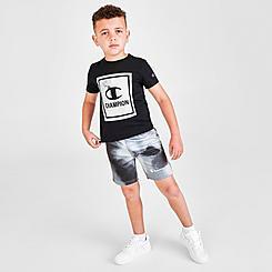 Boys' Toddler Champion Framed C T-Shirt and Shorts Set