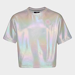 Girls' Converse Foil Knit T-Shirt