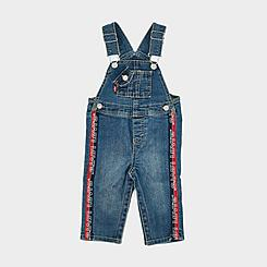 Boys' Infant Levi's® Logo Tape Denim Overalls