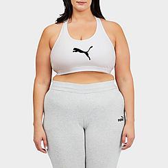 Women's Puma Mid Impact 4Keeps Sports Bra (Plus Size)