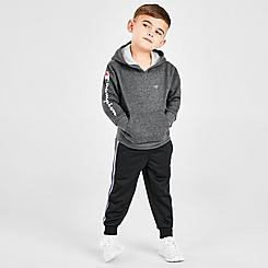 Boys' Toddler and Little Kids' Champion Script Pullover Hoodie and Jogger Pants Set