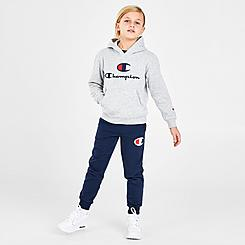 Boys' Toddler and Little Kids' Champion Big C Pullover Hoodie and Jogger Pants Set