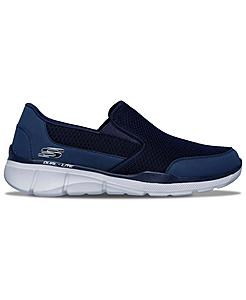 Men's Skechers Relaxed Fit: Equalizer 3.0 - Bluegate Slip-On Casual Shoes (Wide Width)