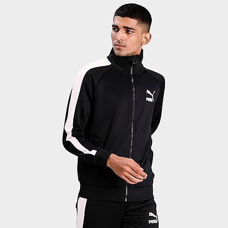 Puma Men's Tricot Track Jacket In Black