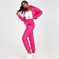 Women's Puma Iconic T7 Woven Track Pants