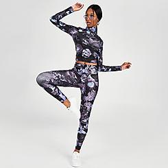 Women's Puma Evide Allover Print Leggings