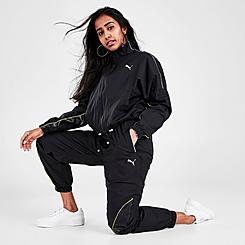 Women's Puma Evide Dark Dream Track Jogger Pants