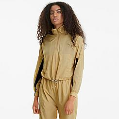 Women's Puma Evide Woven Track Jacket