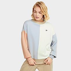 Women's Puma Downtown Oversized Crewneck Sweatshirt