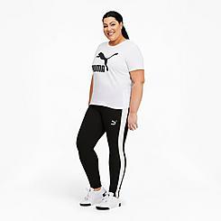 Women's Puma Iconic T7 Leggings (Plus Size)