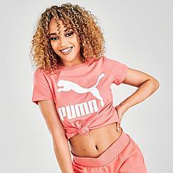 Women's Puma Logo T-Shirt