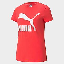 Women's Puma Classics Logo T-Shirt