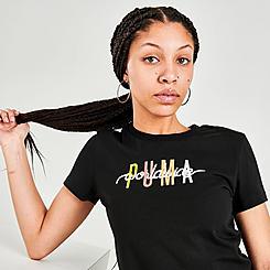 Women's Puma Worldwide Sunset T-Shirt