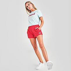 Women's Puma Classics High Waist Shorts