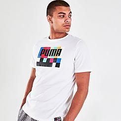Men's Puma White Noize T-Shirt