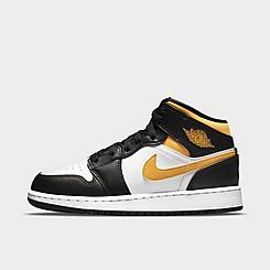 Big Kids' Air Jordan 1 Mid Casual Shoes