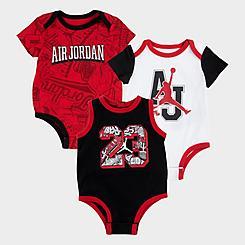 Boys' Infant Jordan AJ23 Bodysuit Set (3-Piece)