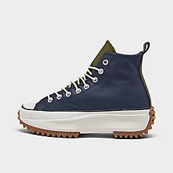 Women's Converse Run Star Hike Leather Platform High Top Sneaker Boots