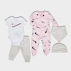 Infant Nike Mini 5 Pack Baby Box Set