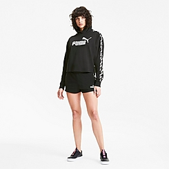 Women's Puma Amplified Cropped Training Hoodie